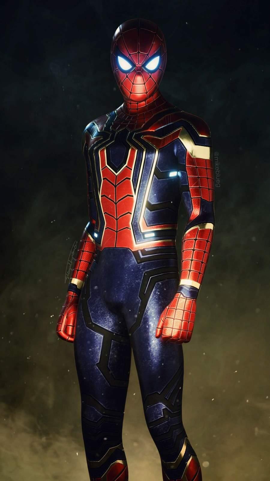 Iron Spider iPhone Wallpaper