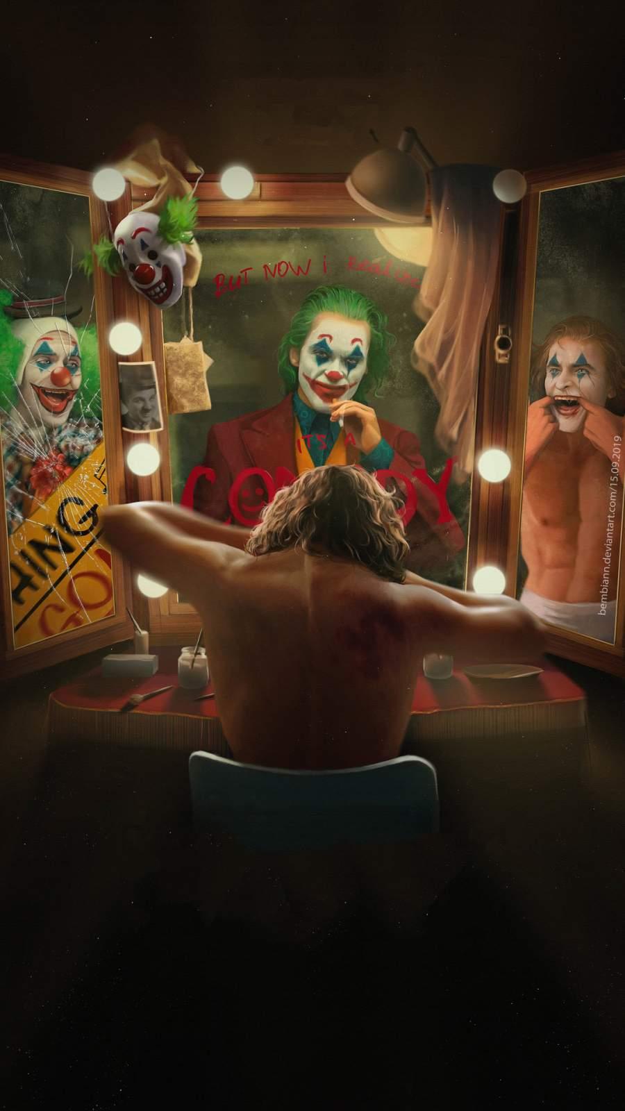 Joker 4K iPhone Wallpaper