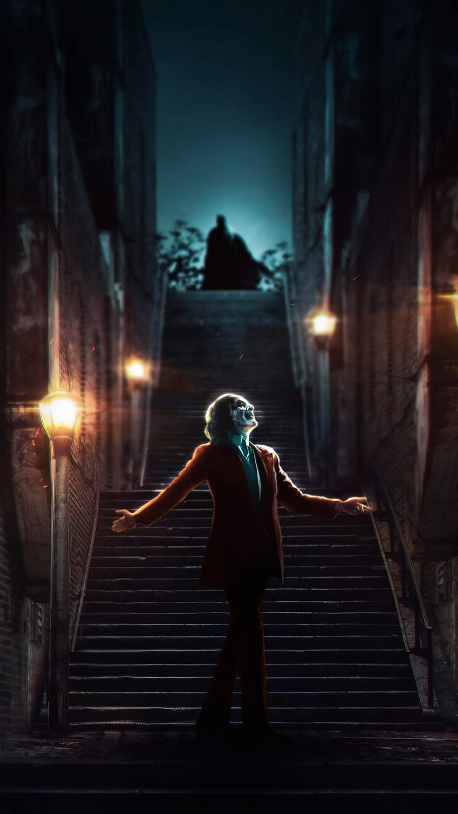 Joker and Batman iPhone Wallpaper