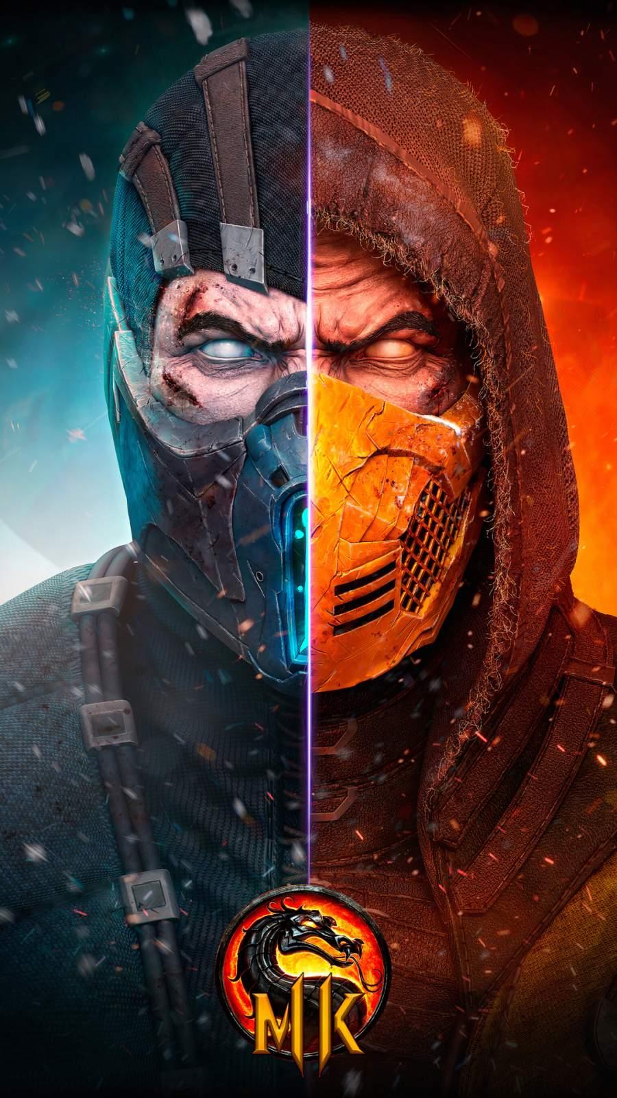Mortal Kombat 4K iPhone Wallpaper