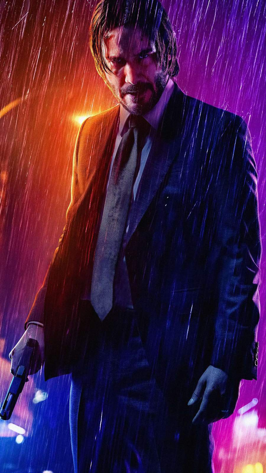 Mr Wick iPhone Wallpaper