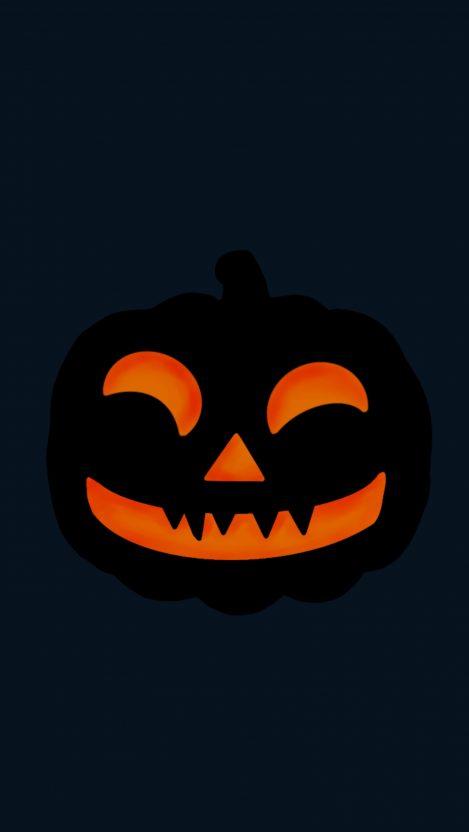 Pumpkin Halloween iPhone Wallpaper