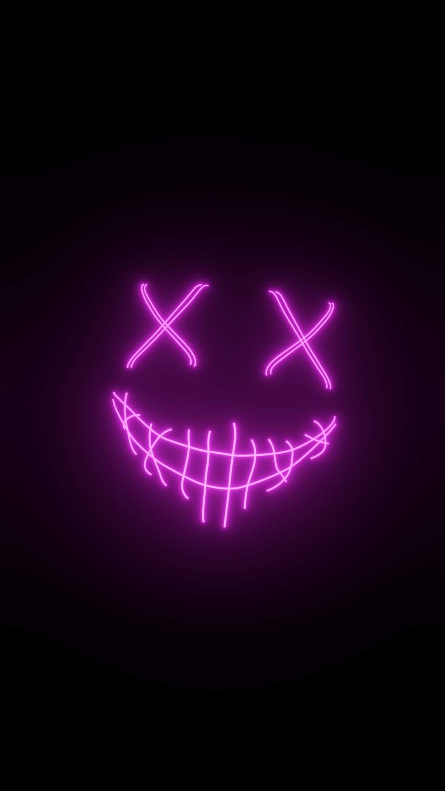 Purple Mask iPhone Wallpaper