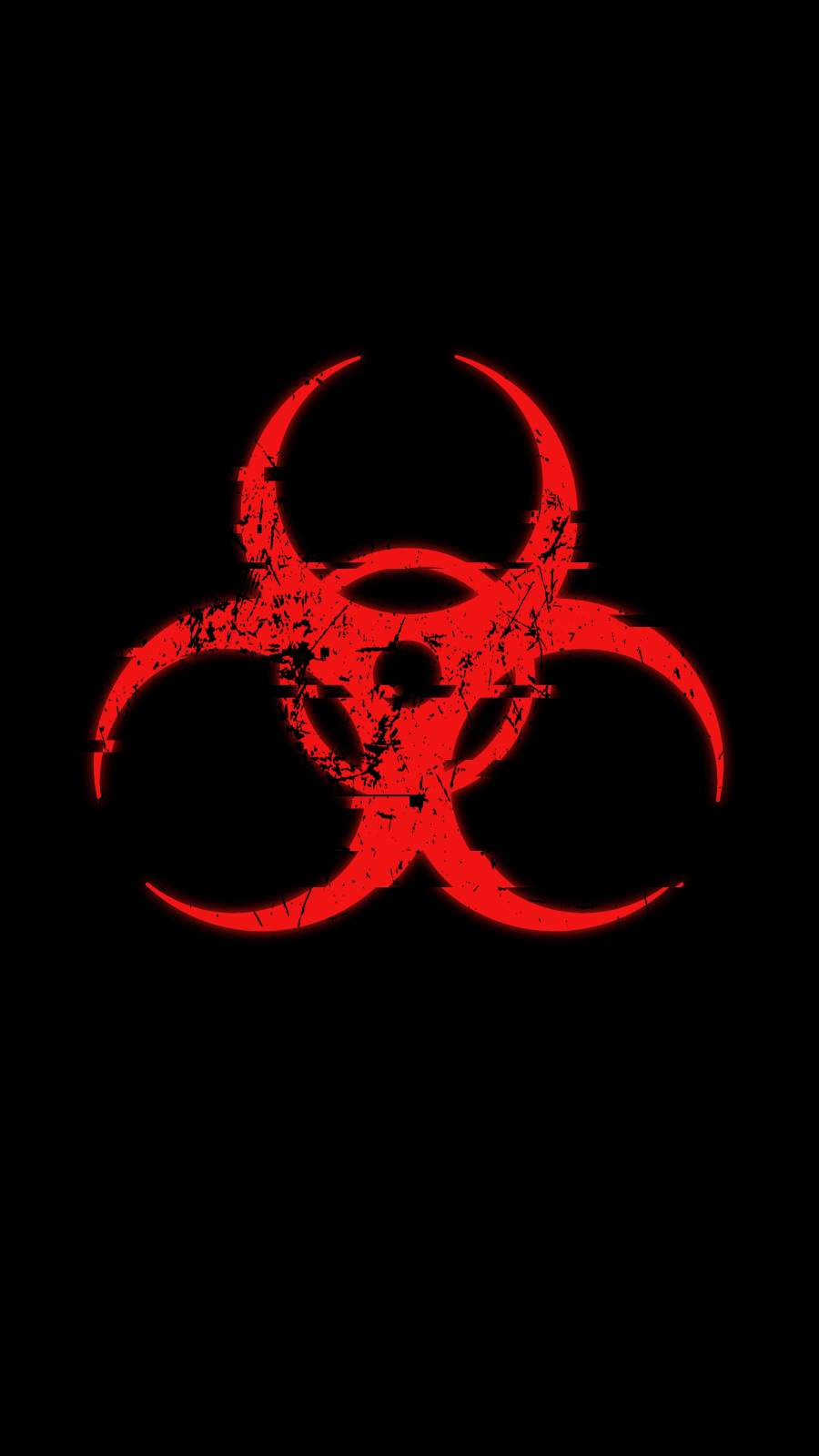 Radioactive Danger iPhone Wallpaper