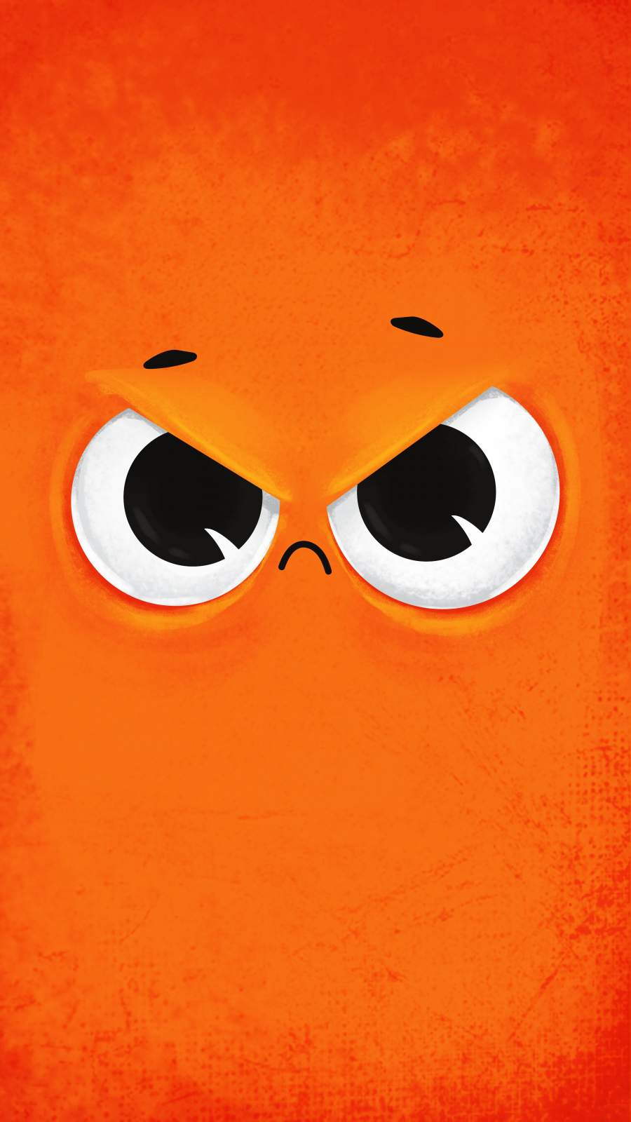 Rude Face iPhone Wallpaper