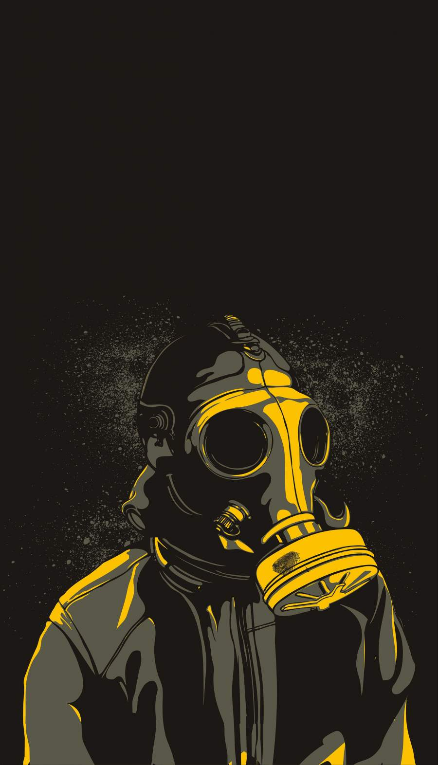 The Masked iPhone Wallpaper
