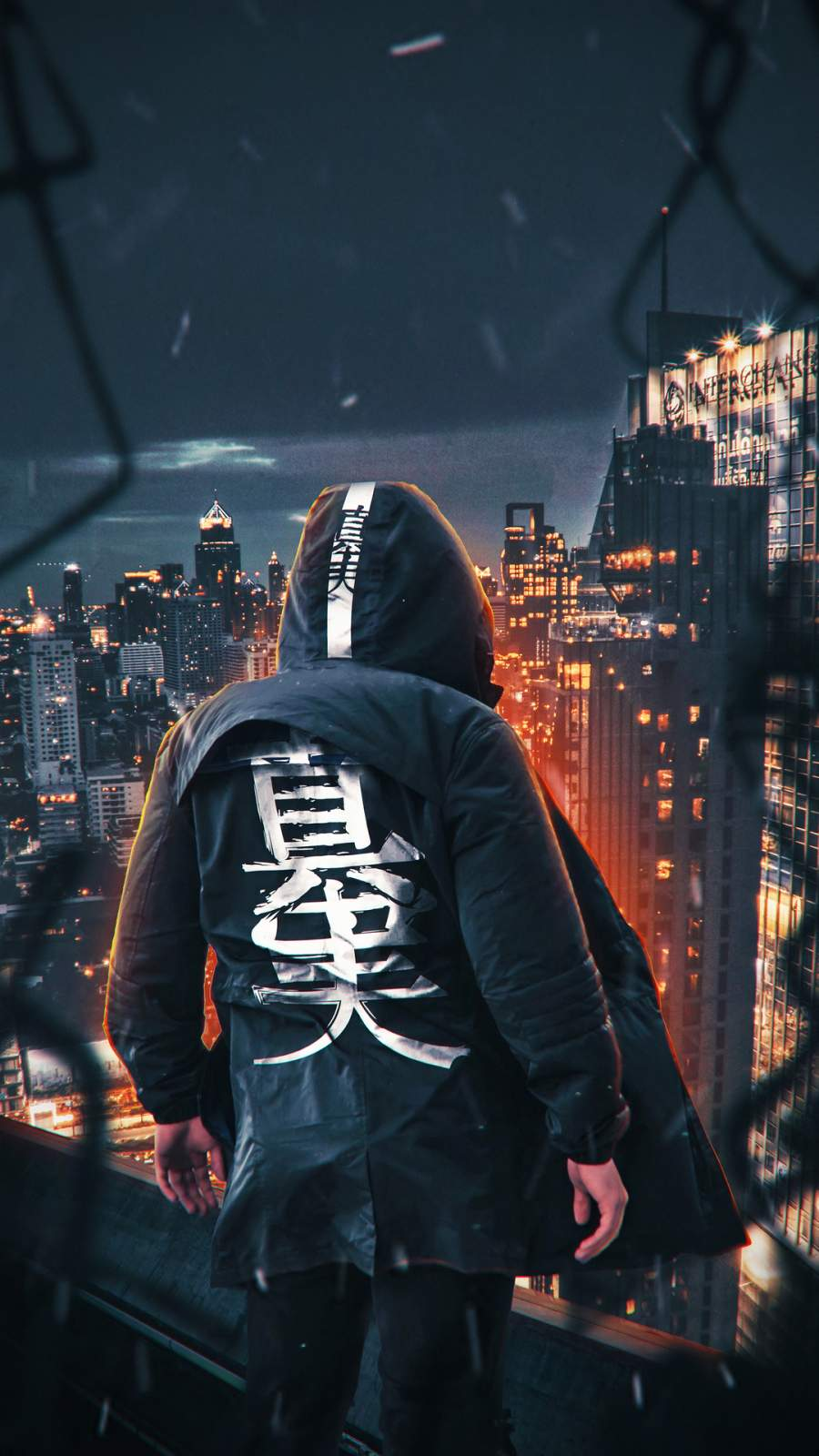 Urban Ninja iPhone Wallpaper