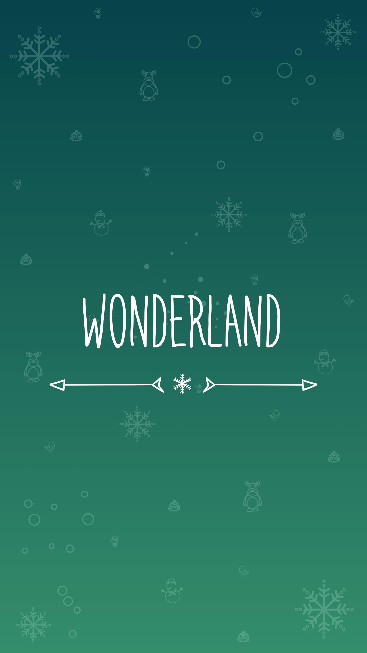 Wonderland iPhone Wallpaper