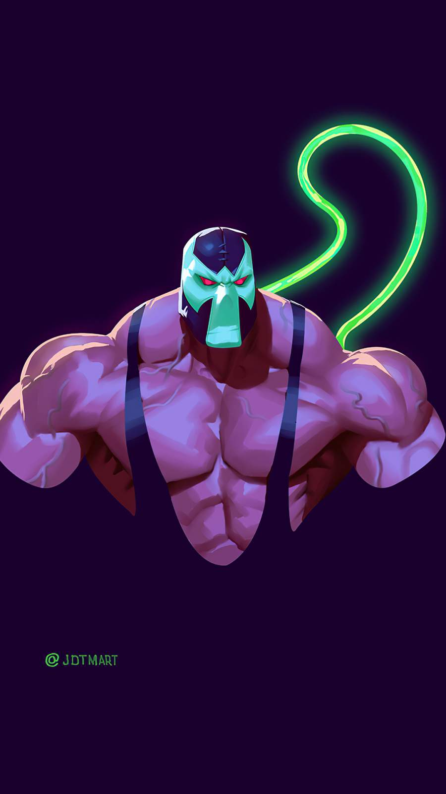 Bane Minimal iPhone Wallpaper