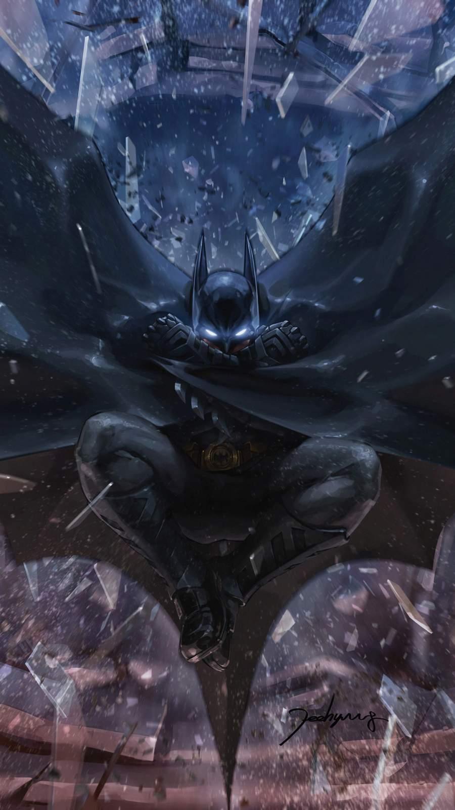 Batman Grave iPhone Wallpaper