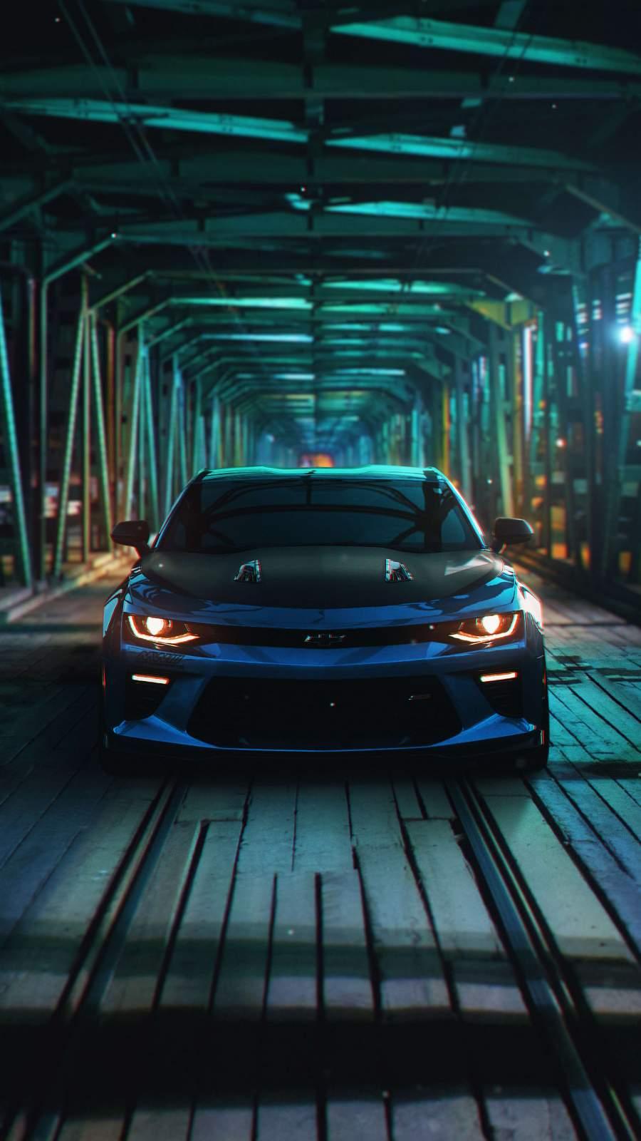 Chevrolet Camaro iPhone Wallpaper