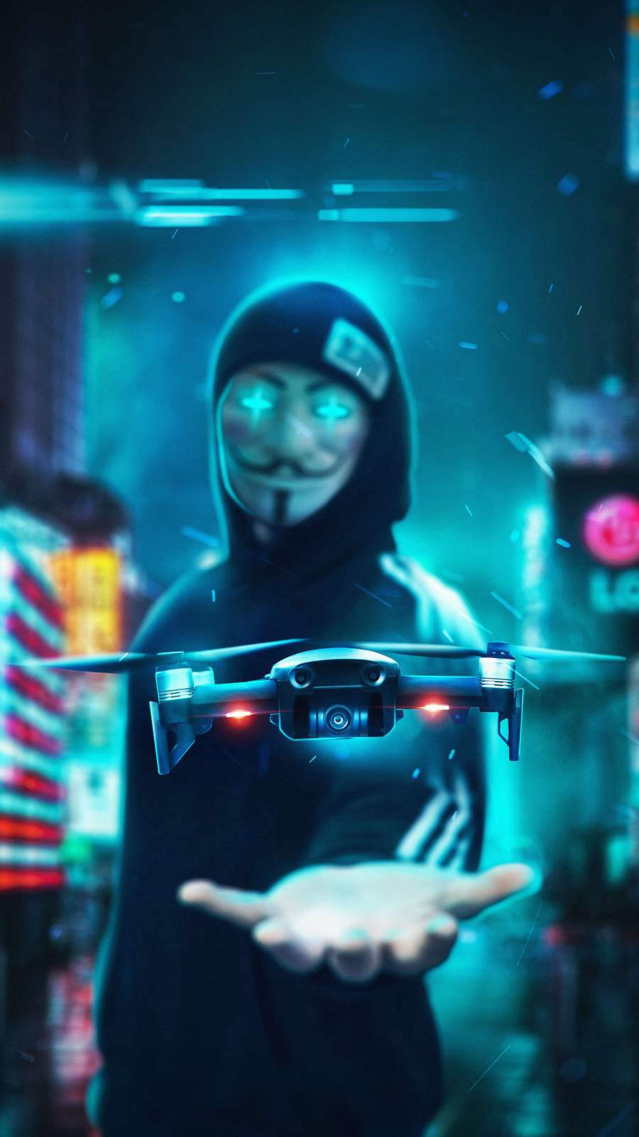 Drone Guy iPhone Wallpaper