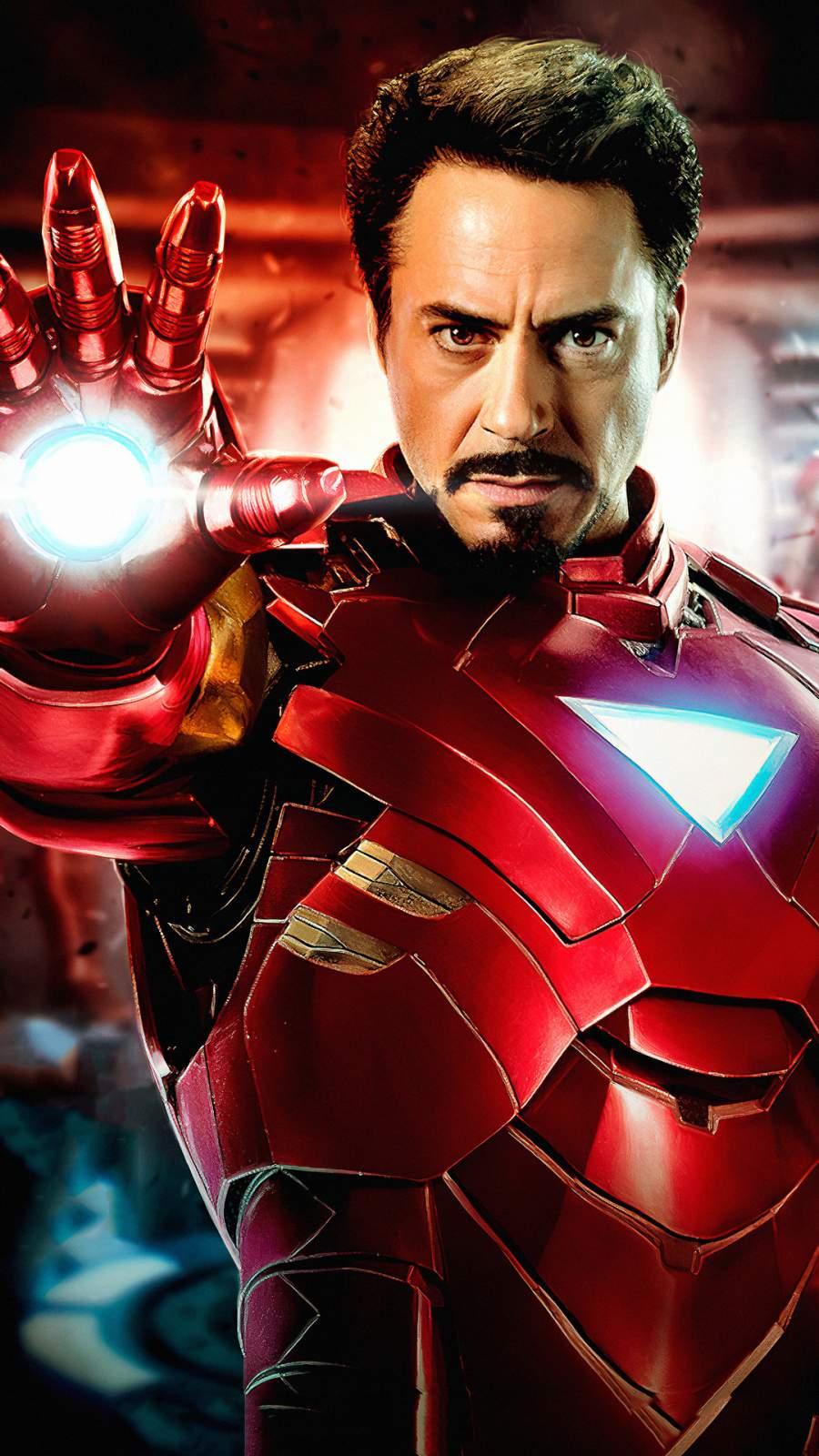 Iron Man 4K Robert Downey iPhone Wallpaper