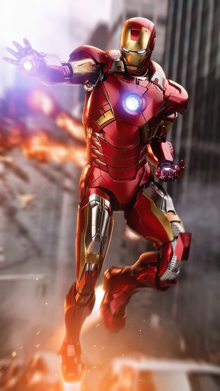 Iron Man 4K iPhone Wallpaper