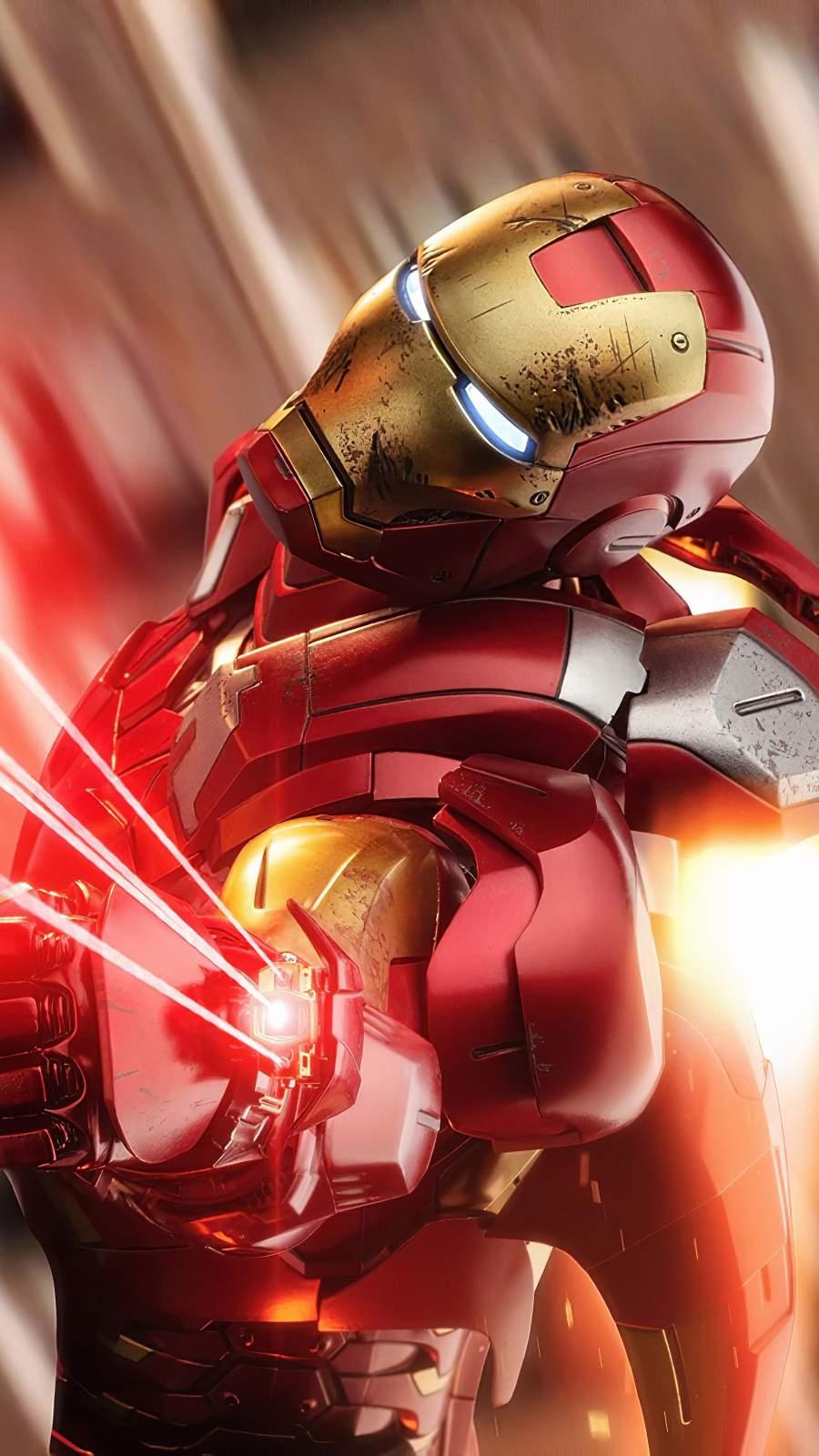 Iron Man Fight 4K iPhone Wallpaper