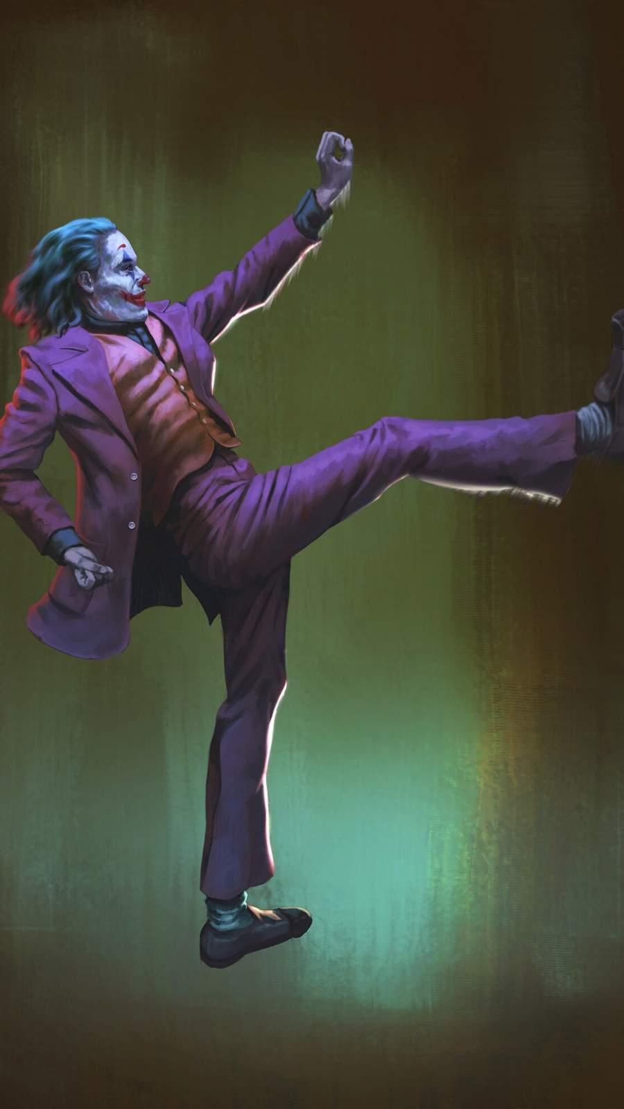 Joker Dance iPhone Wallpaper