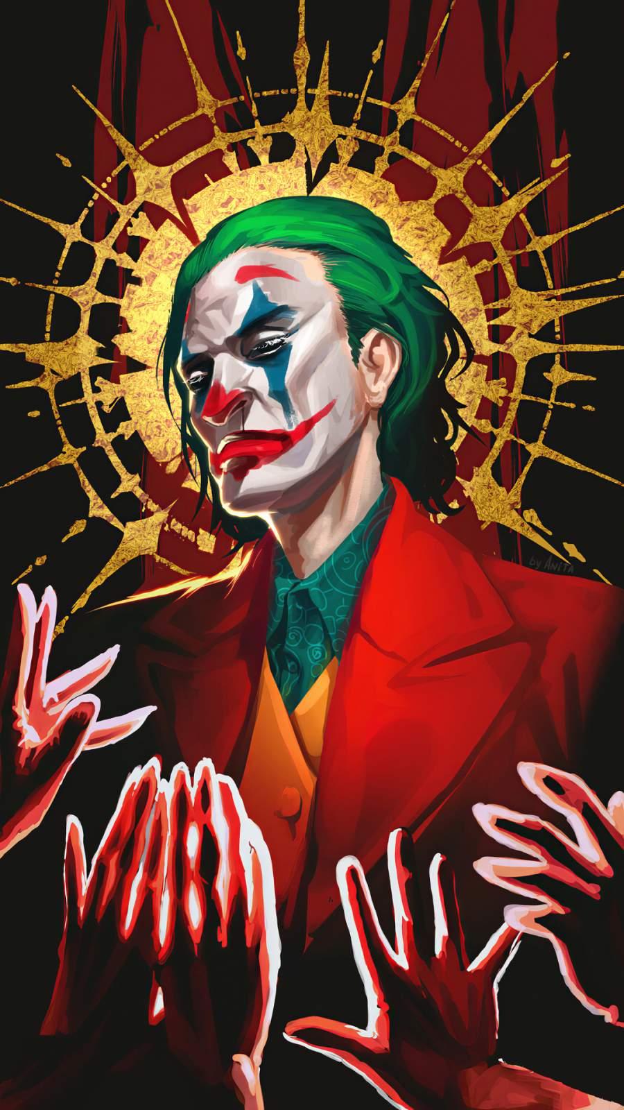 Joker God iPhone Wallpaper