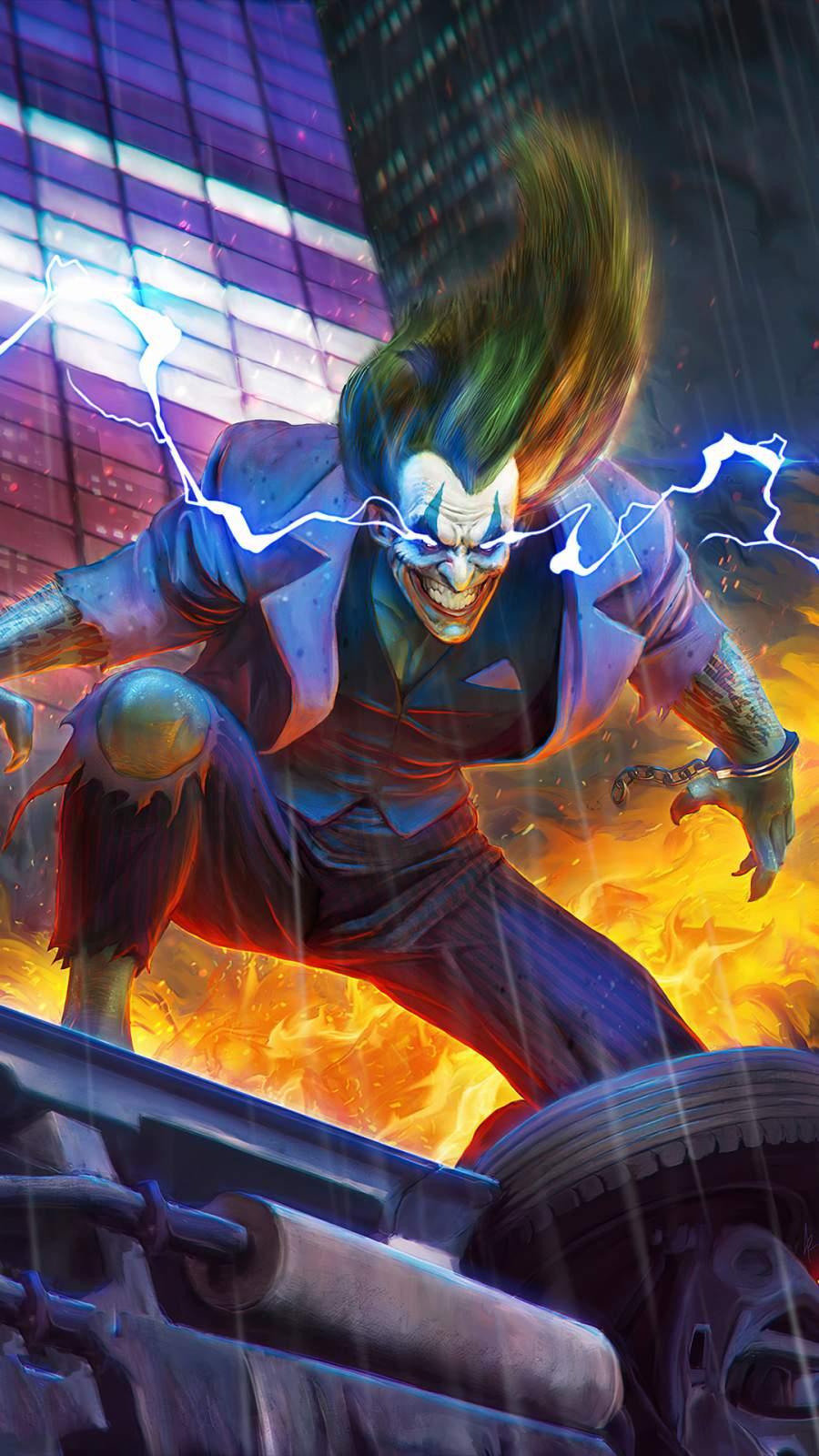 Joker Gotham iPhone Wallpaper