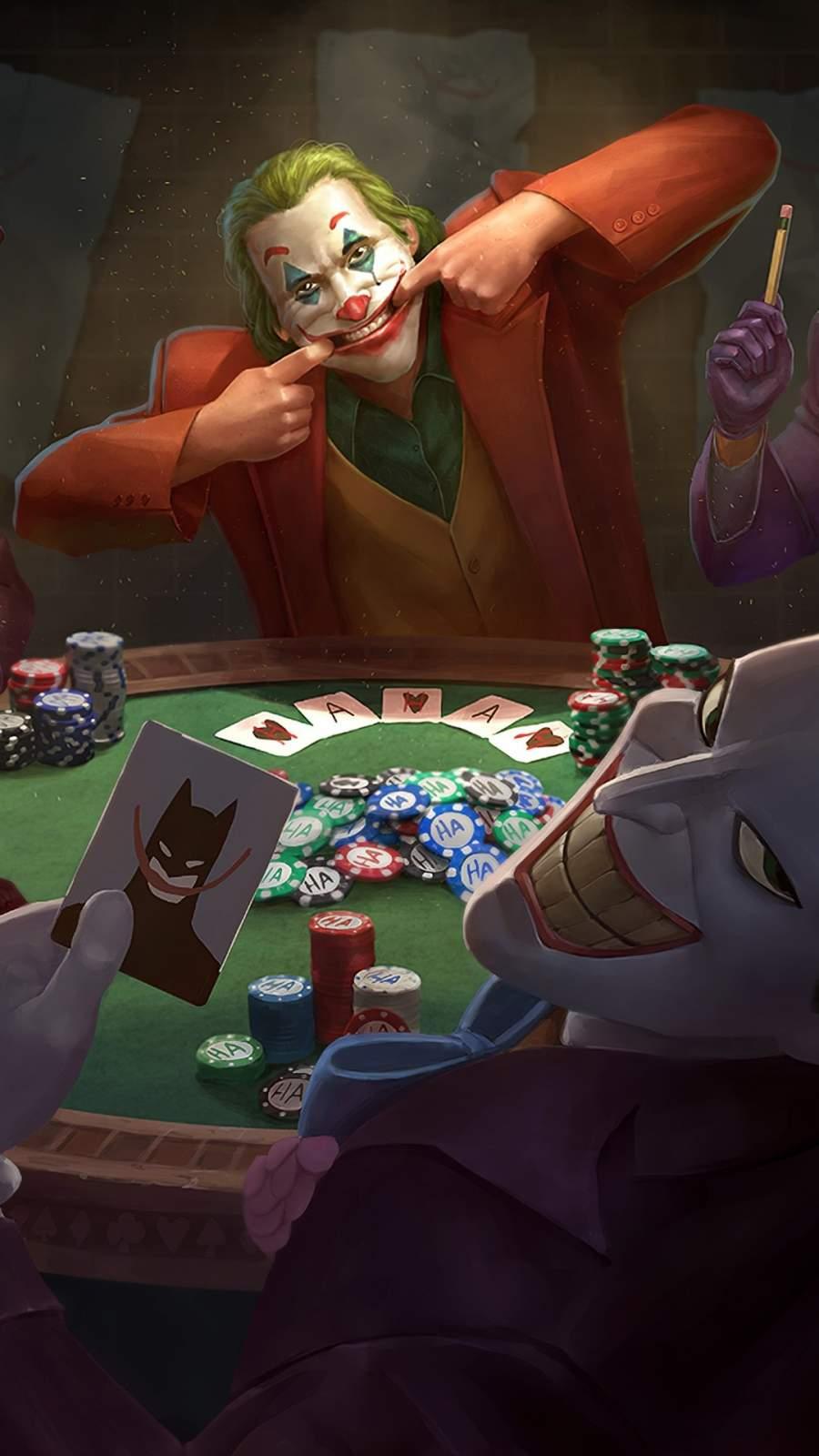 Joker Poker iPhone Wallpaper