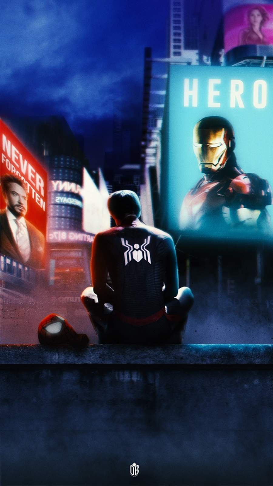 Missing the Iron Man iPhone Wallpaper
