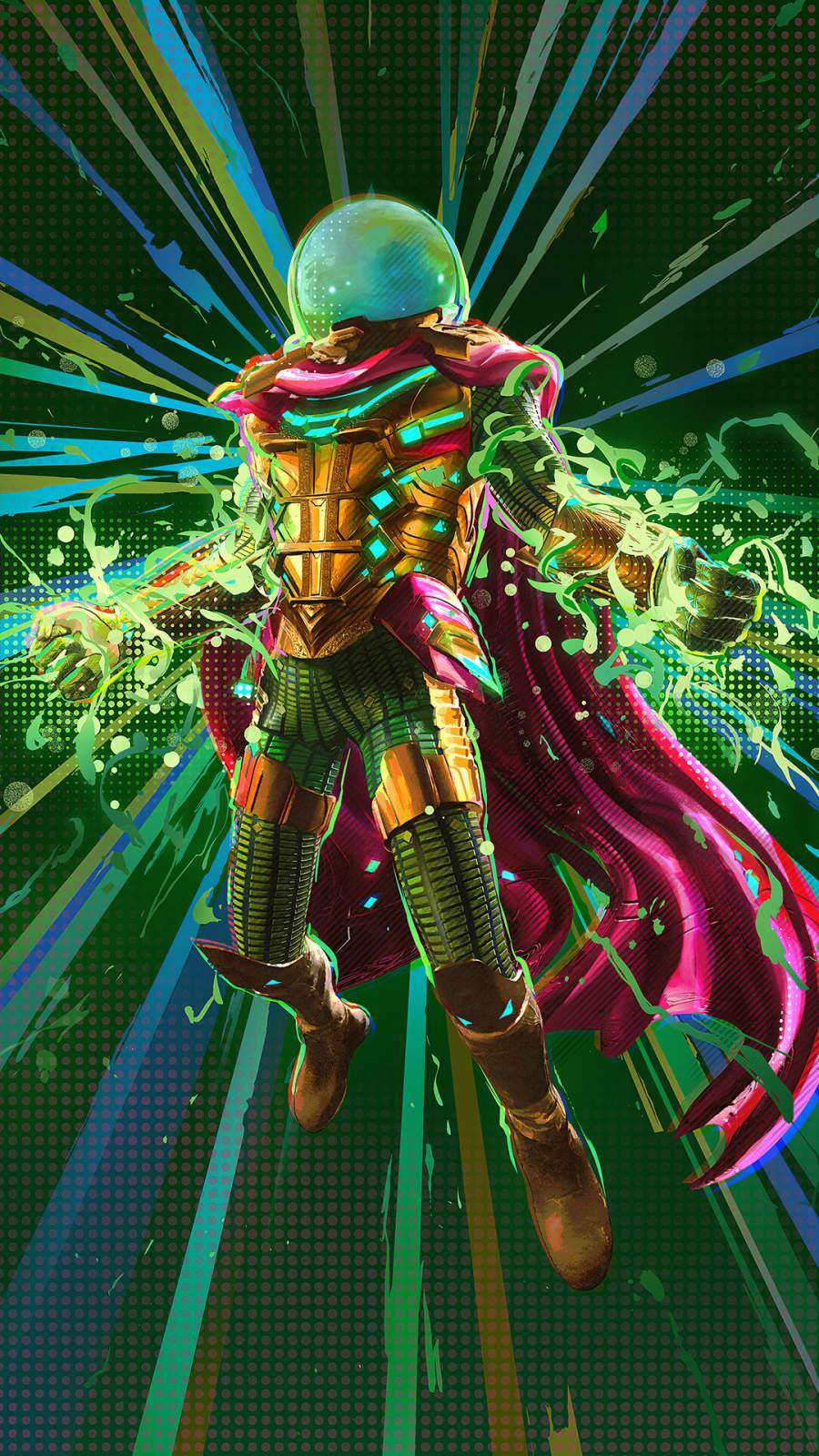 Mysterio iPhone Wallpaper