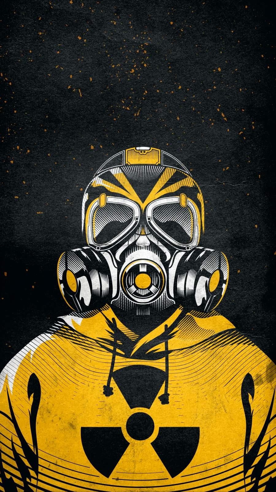 Nuclear War iPhone Wallpaper