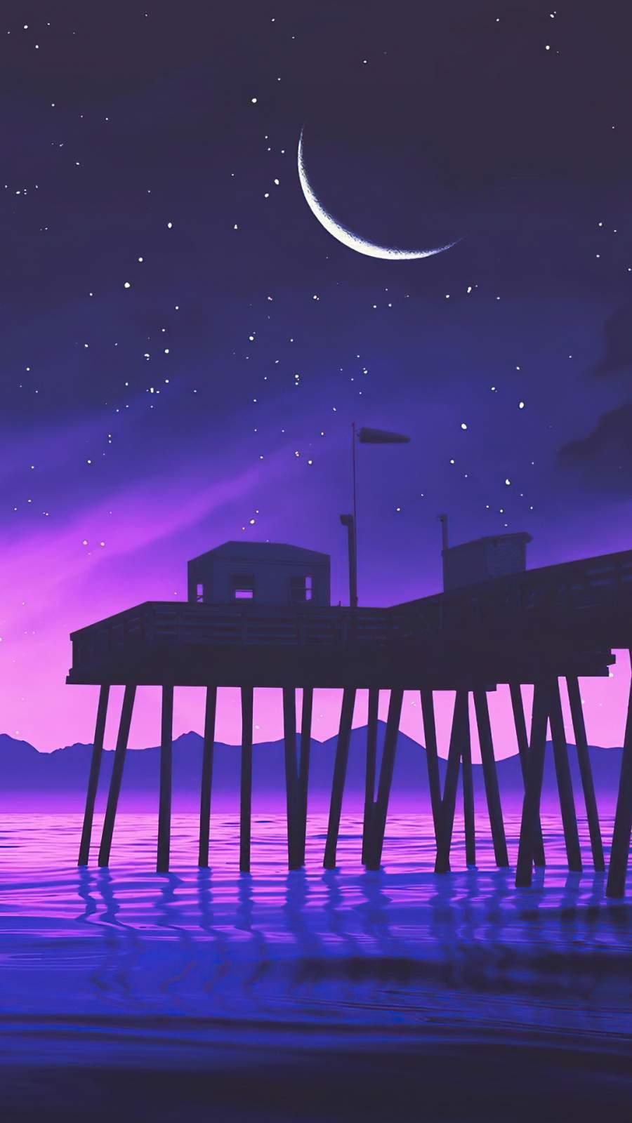 Pier House iPhone Wallpaper