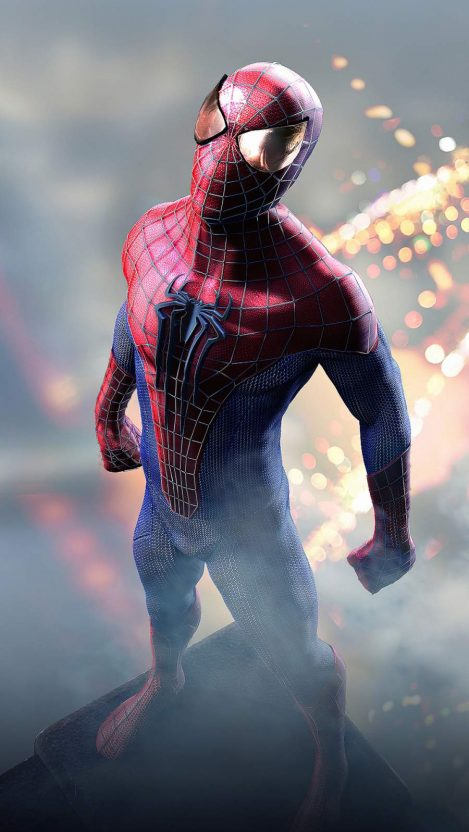 Spider Man 4K iPhone Wallpaper