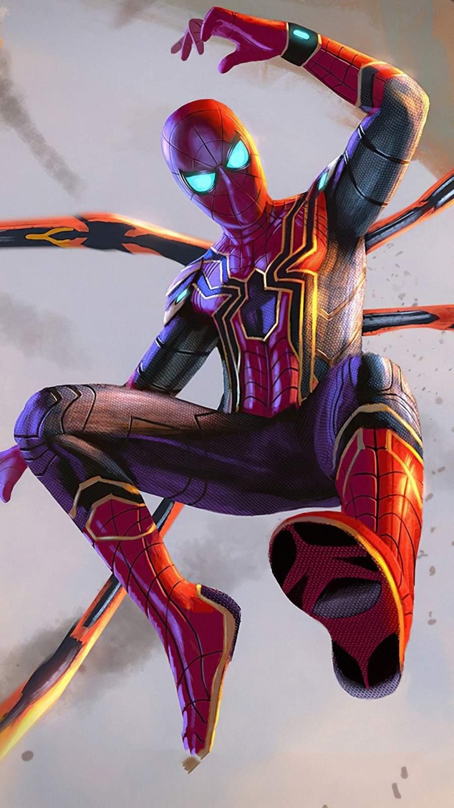 Spiderman Instant Killer Suit iPhone Wallpaper