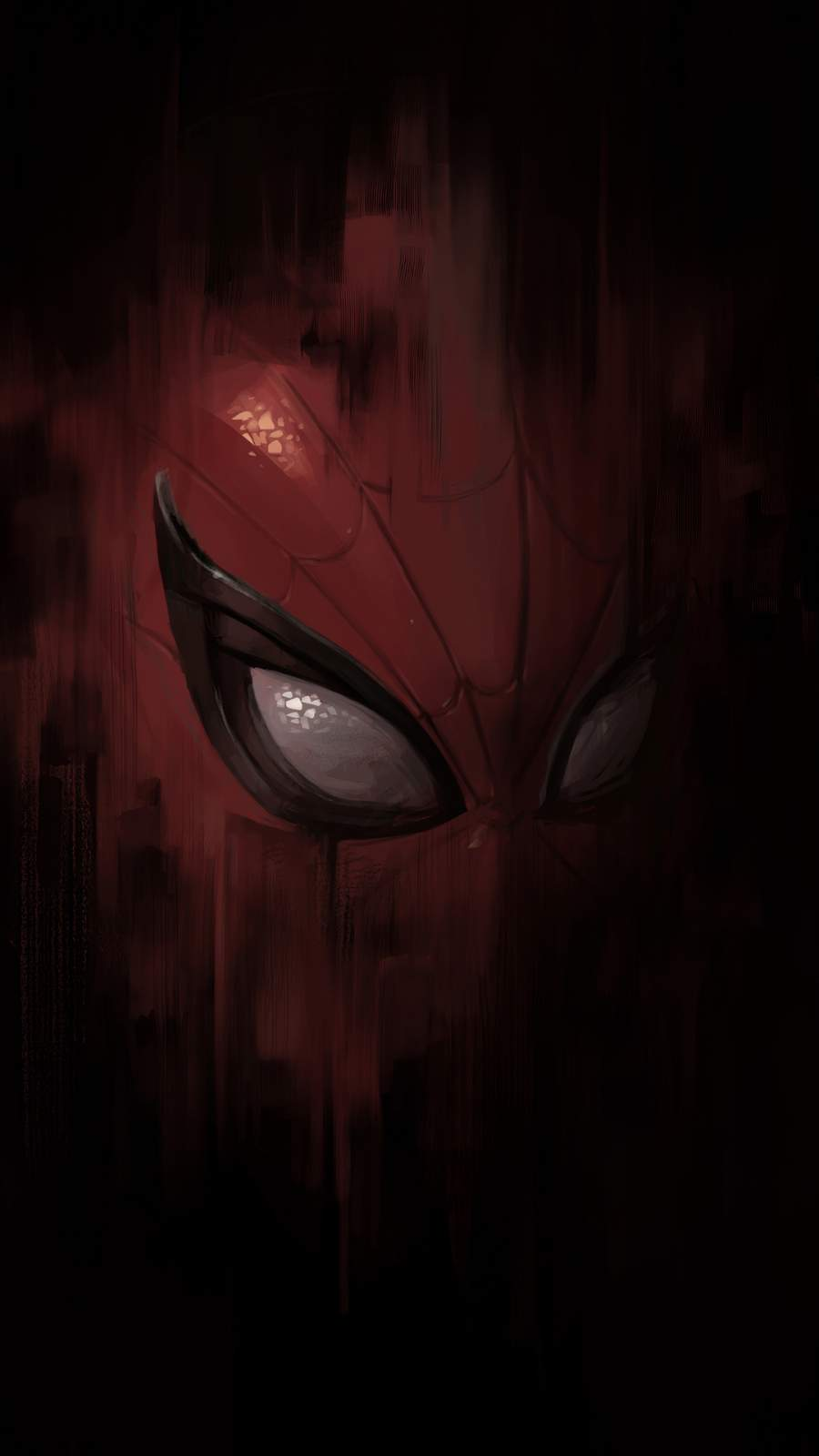 Spiderman Mask iPhone Wallpaper