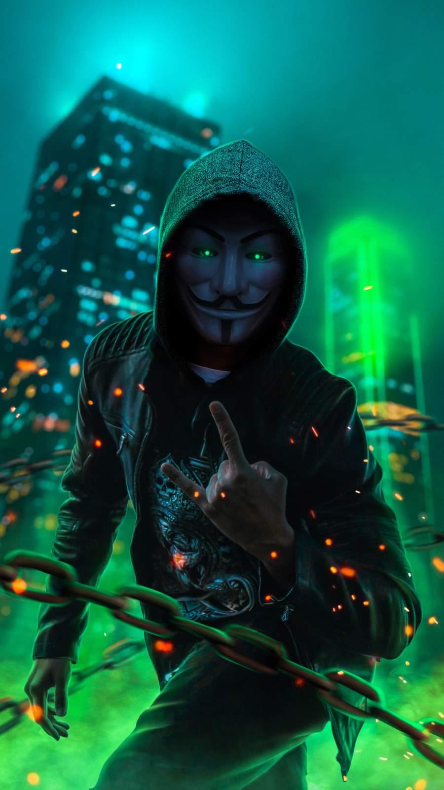 V for Vendetta iPhone Wallpaper