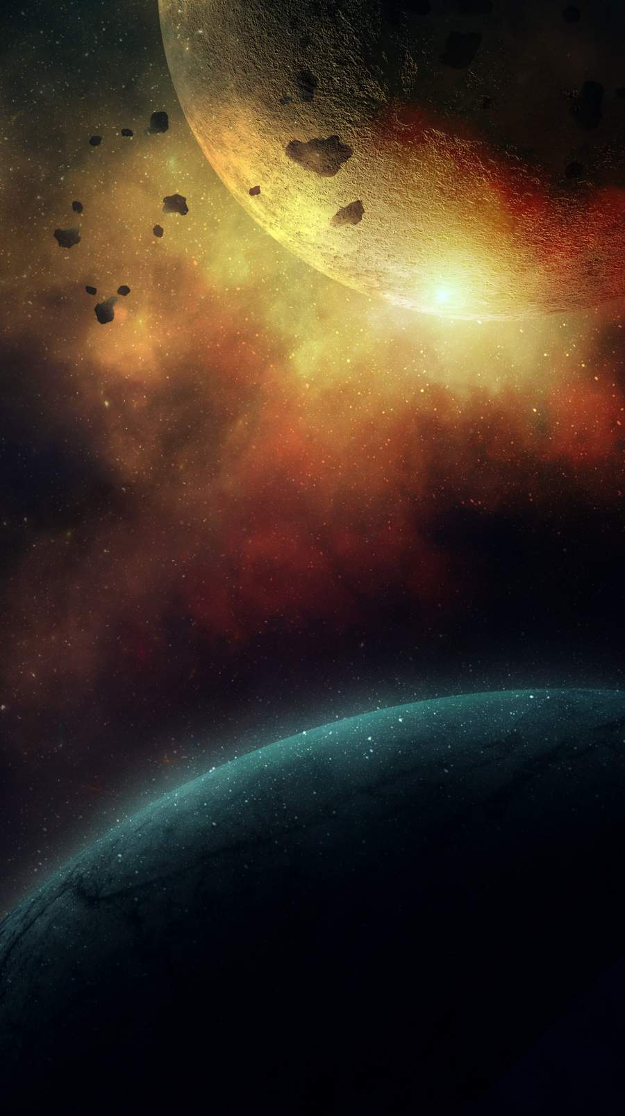 War of Planets iPhone Wallpaper