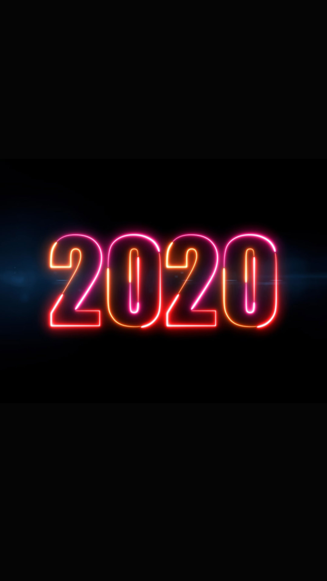 2020 New Year iPhone Wallpaper 1