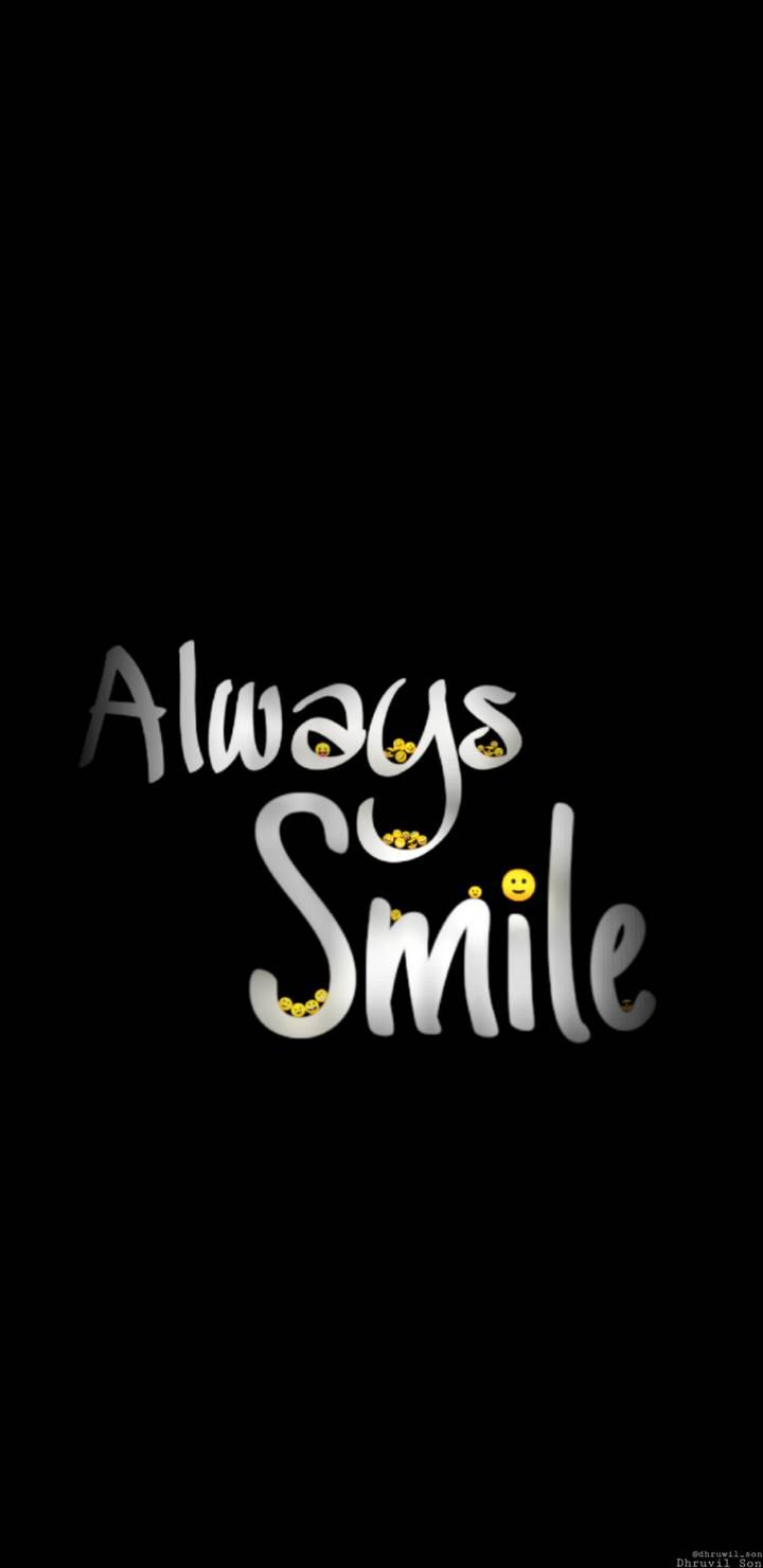 Always Smile iPhone Wallpaper