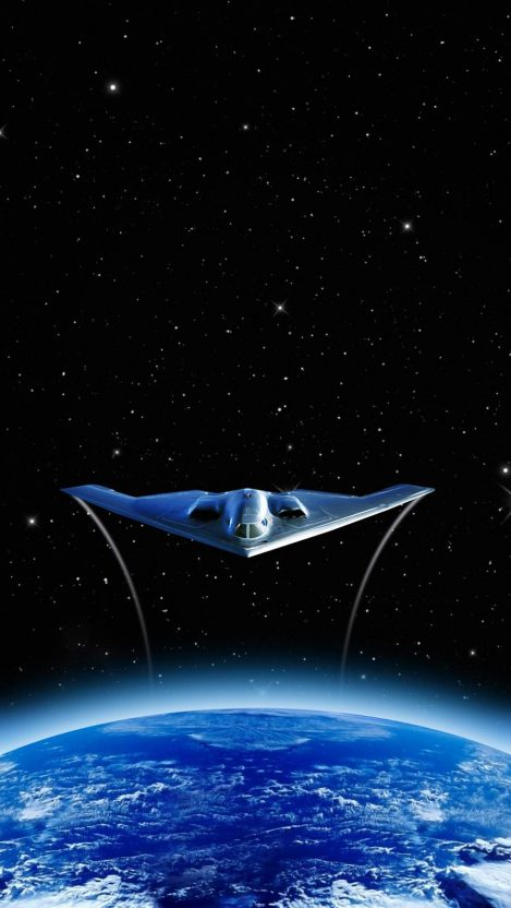 B 2 Spirit Aircraft iPhone Wallpaper