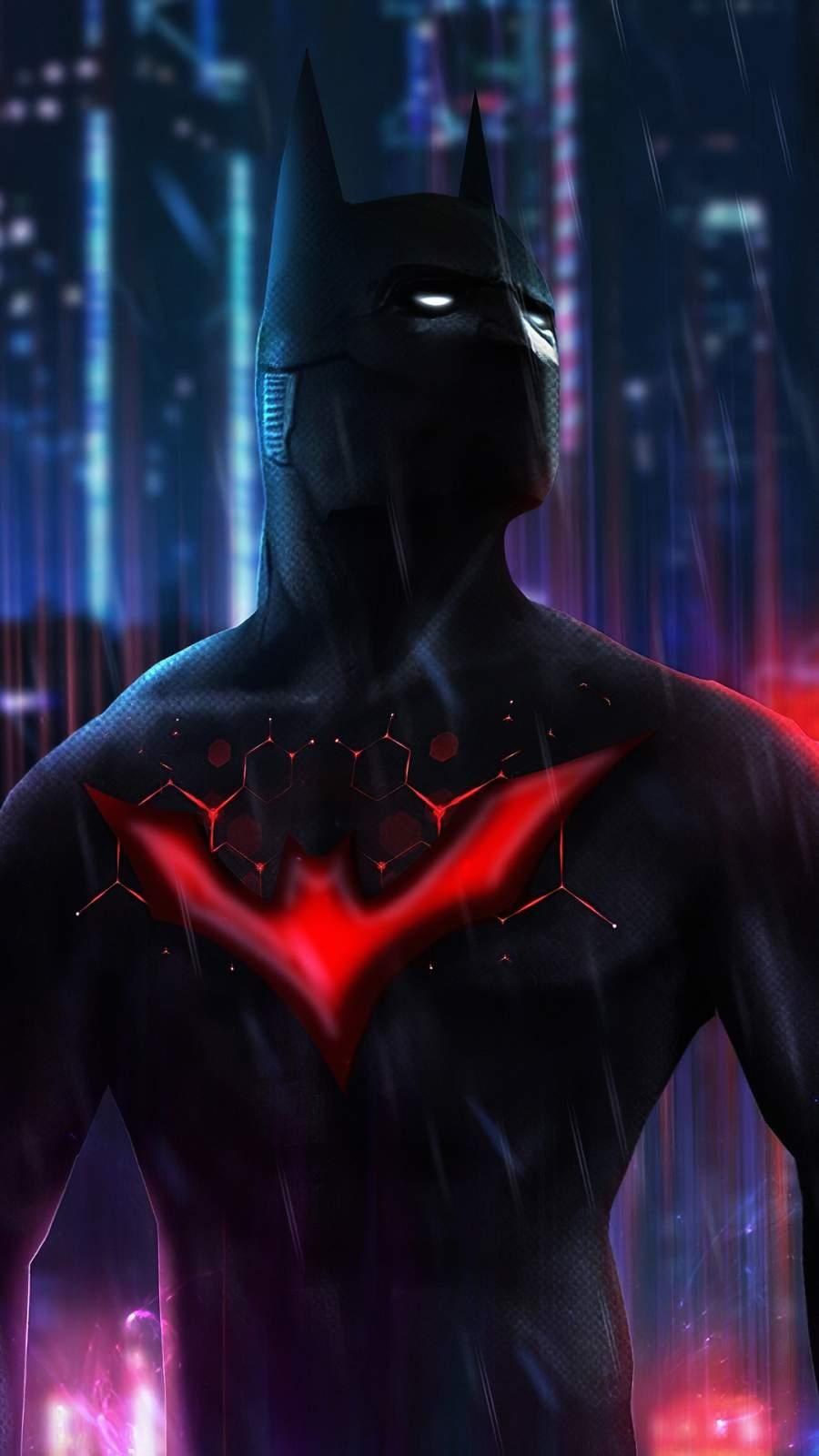 Batman Beyond Art iPhone Wallpaper
