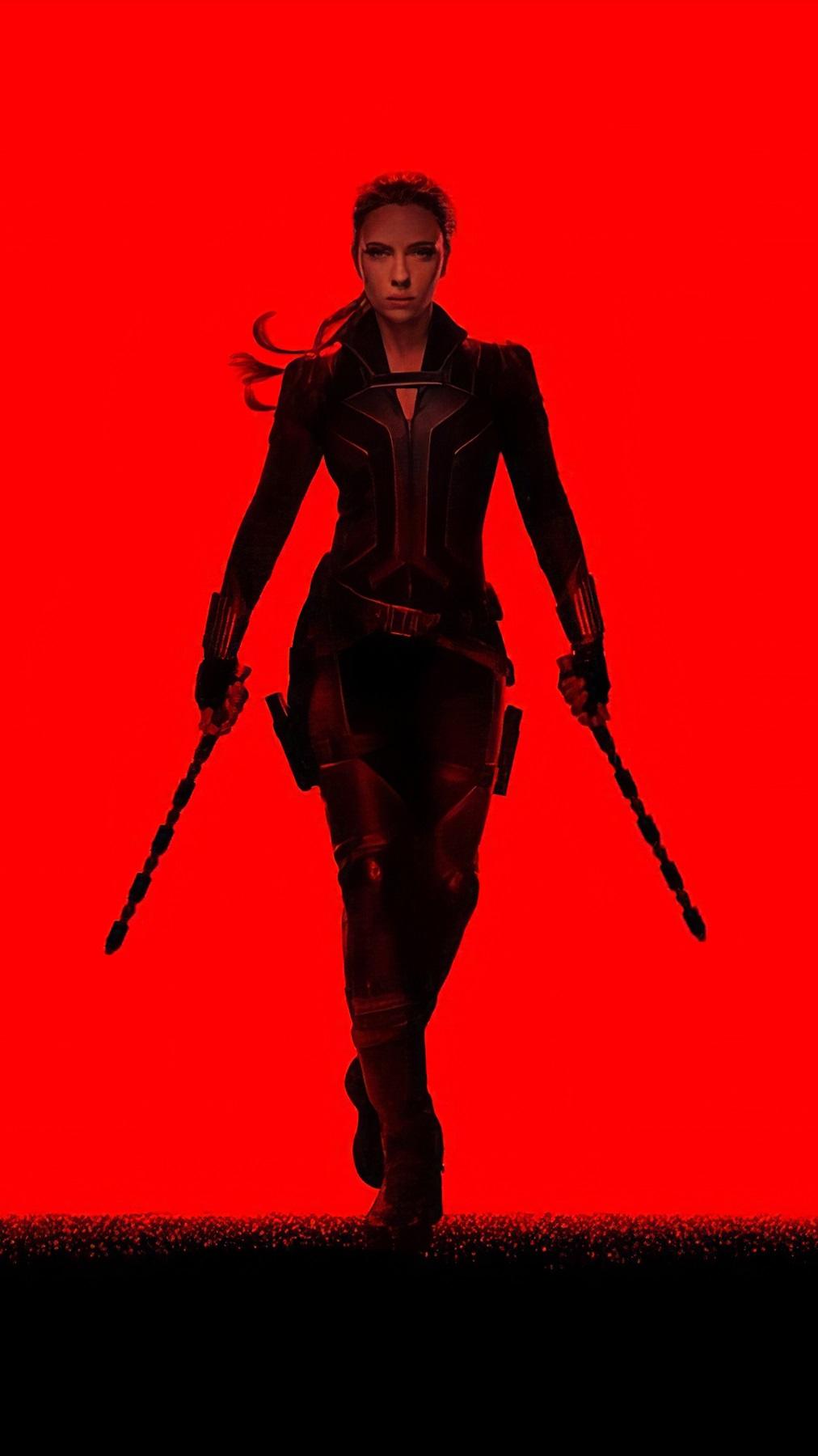 Black Widow 2020 iPhone Wallpaper