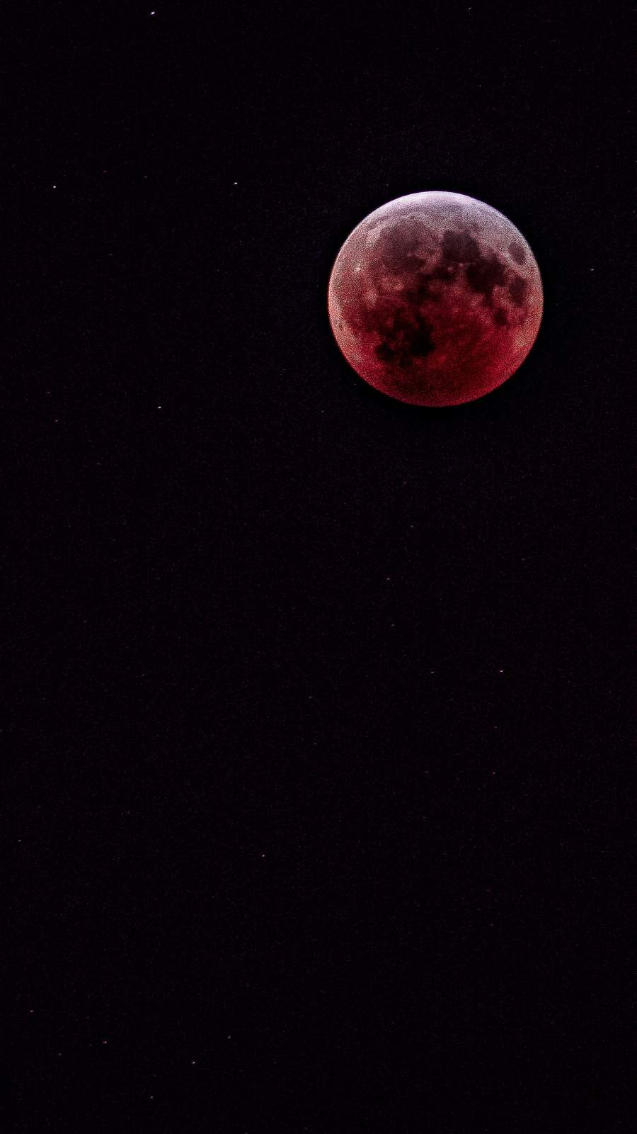 Bloody Moon iPhone Wallpaper