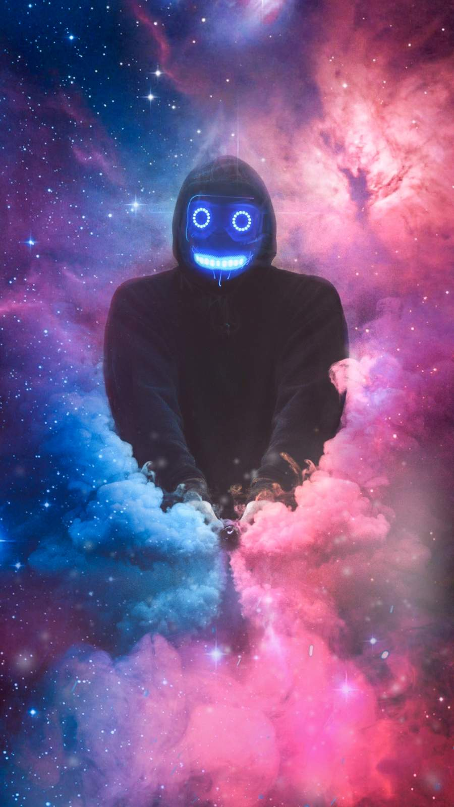 Call Me A Spaceman iPhone Wallpaper