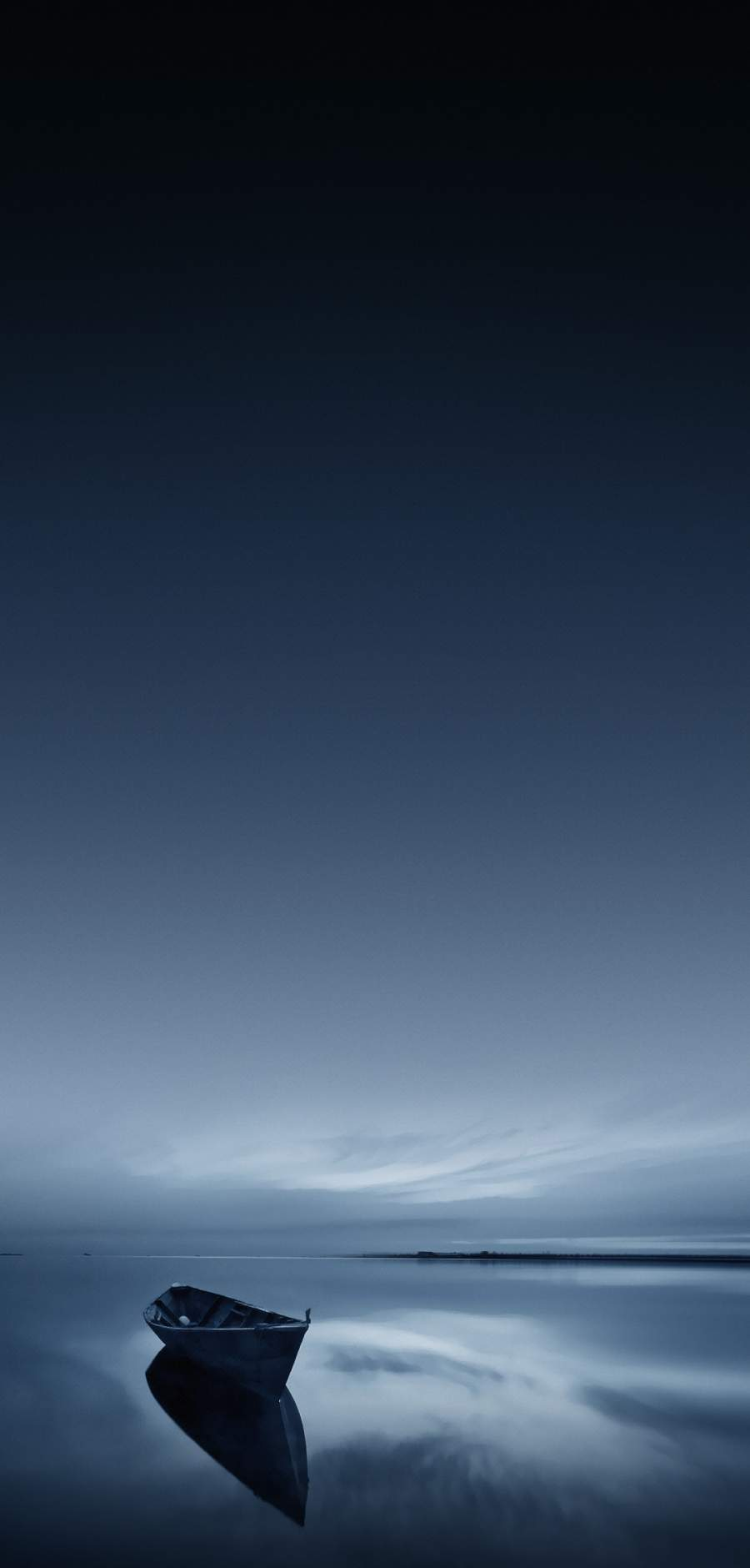 Calm Ocean iPhone Wallpaper