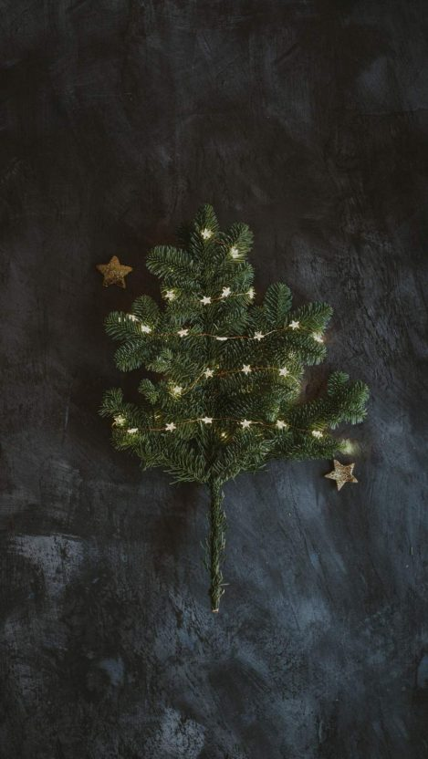 Christmas Tree Decoration iPhone Wallpaper