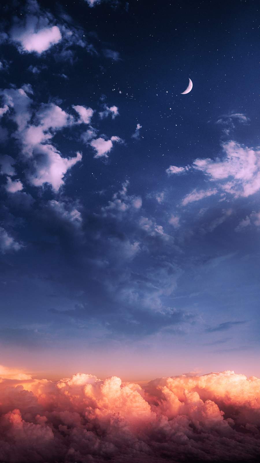 Cloudy Sky iPhone Wallpaper