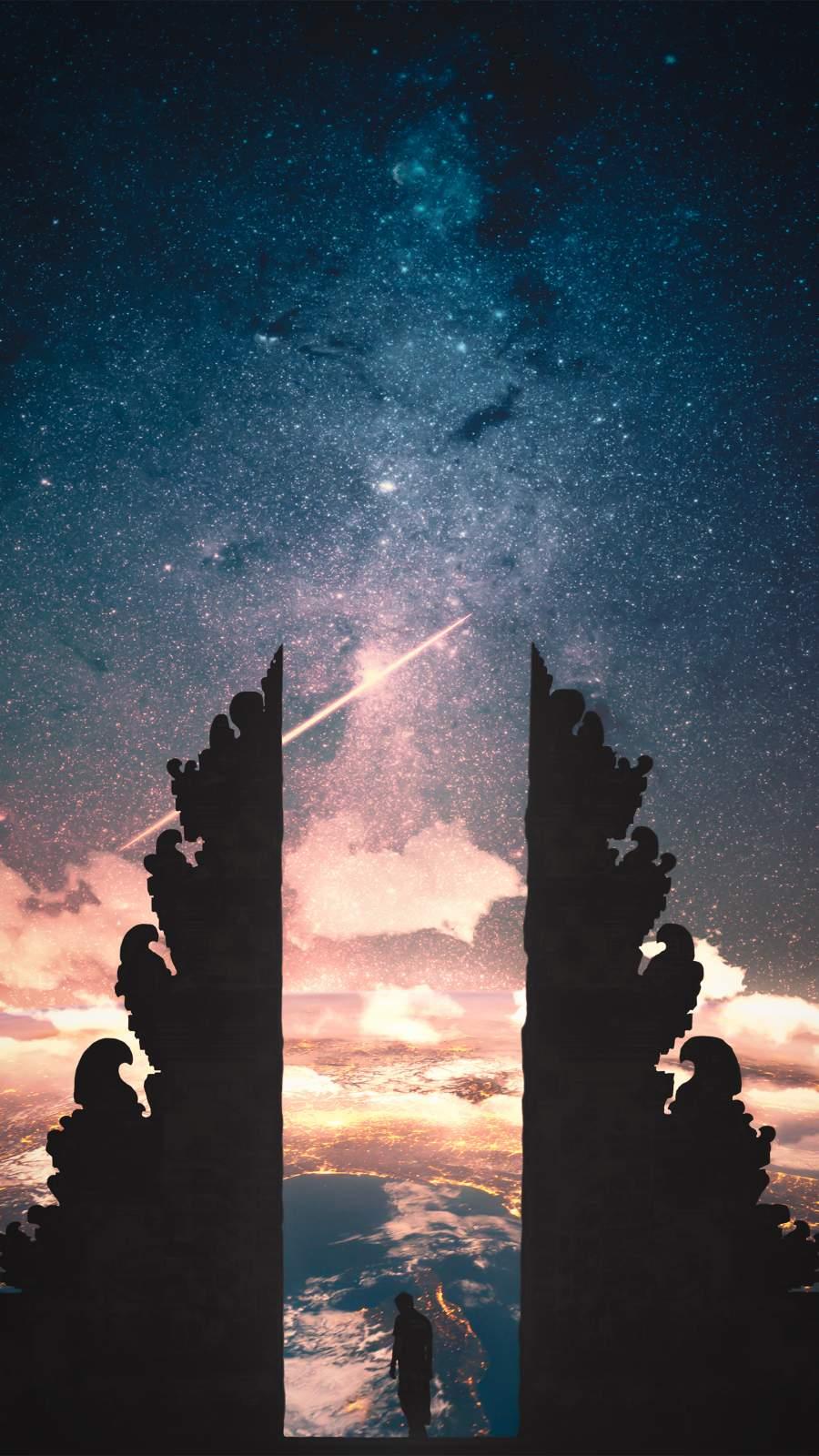 Gate of Heaven iPhone Wallpaper