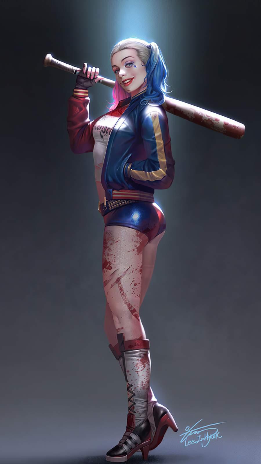 Harley Quinn iPhone Wallpaper