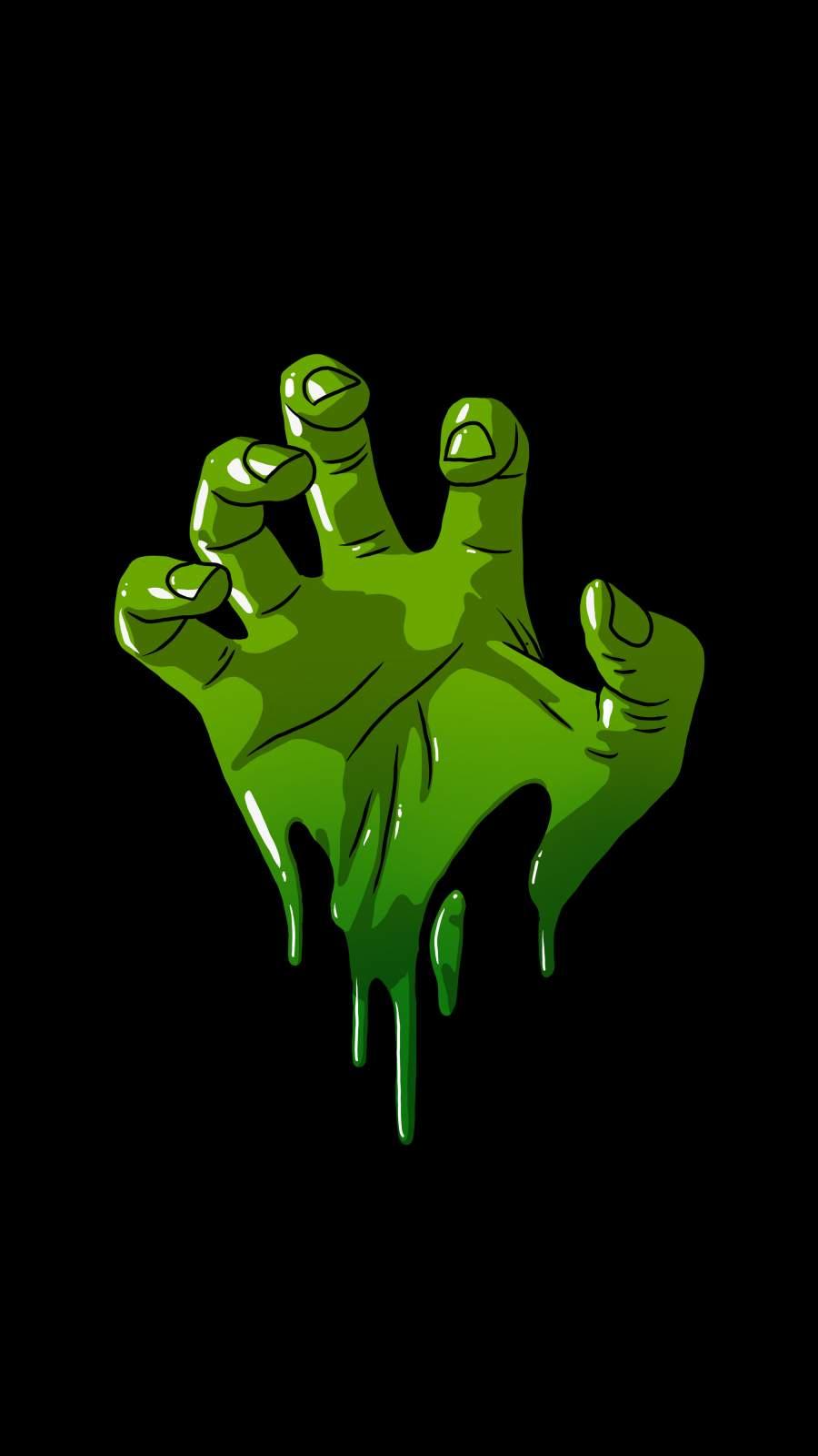 Hulk Hand iPhone Wallpaper