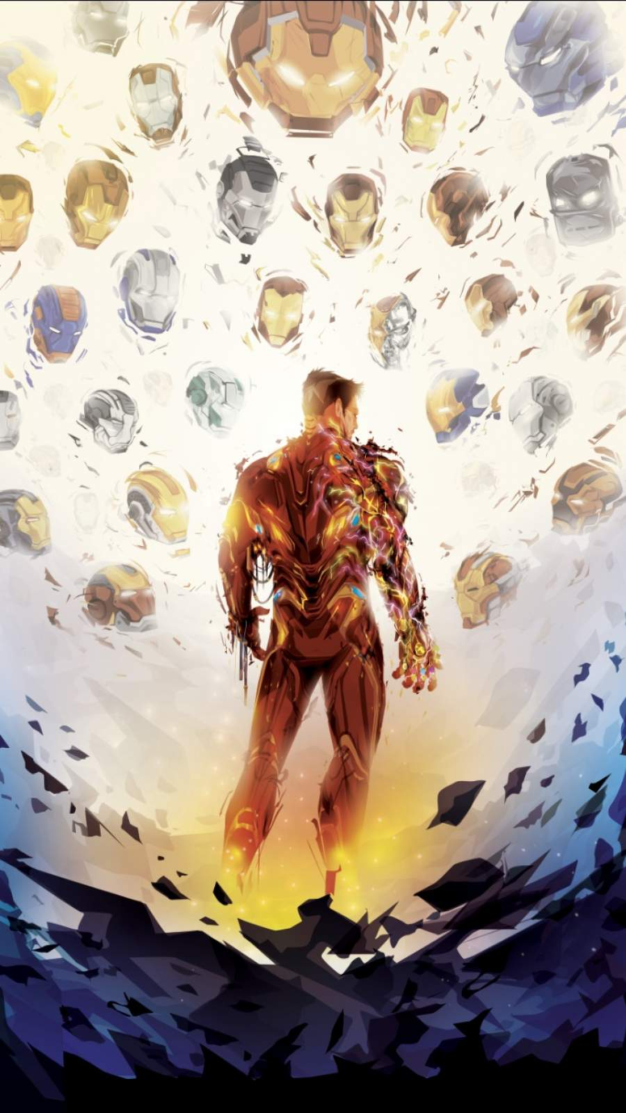 I Am The Iron Man iPhone Wallpaper