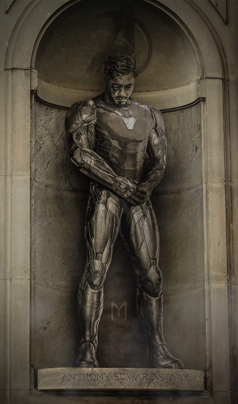 Iron Man Cemetery iPhone Wallpaper