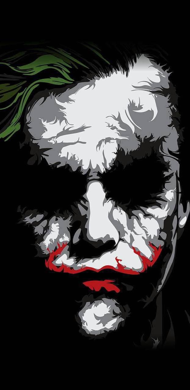 Joker Face iPhone Wallpaper