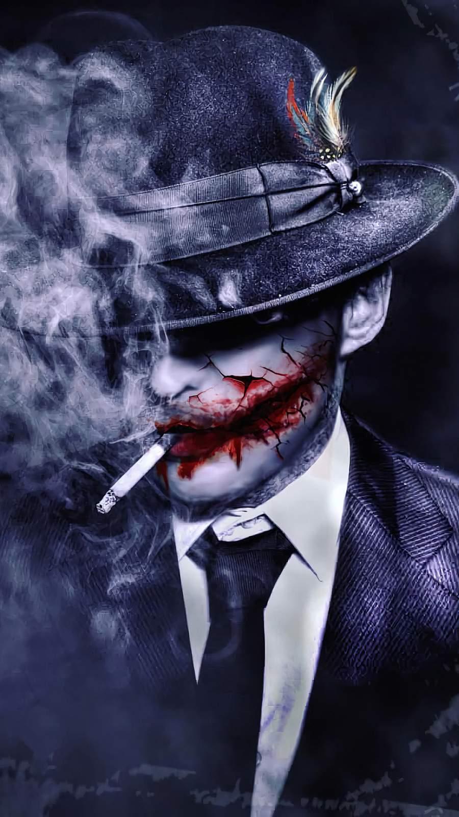 Joker Hat iPhone Wallpaper