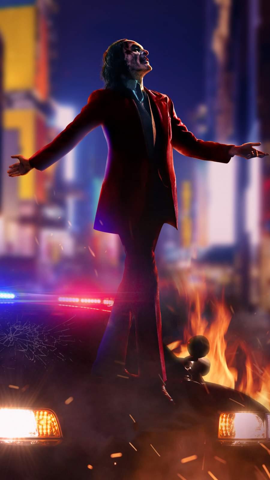 Joker Movie Art iPhone Wallpaper